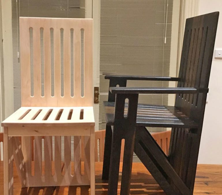 Multi-Timber Type Dining Chairs x 10